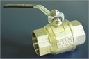 "Valve, steel, ball, 2"", threaded fem x 2"
