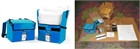 COLD BOX, BACKPACK VACCIN CARRIER 3L, complete + 8 ice packs