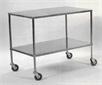 Table, instruments, 100 x 60 cm, 2 shelves